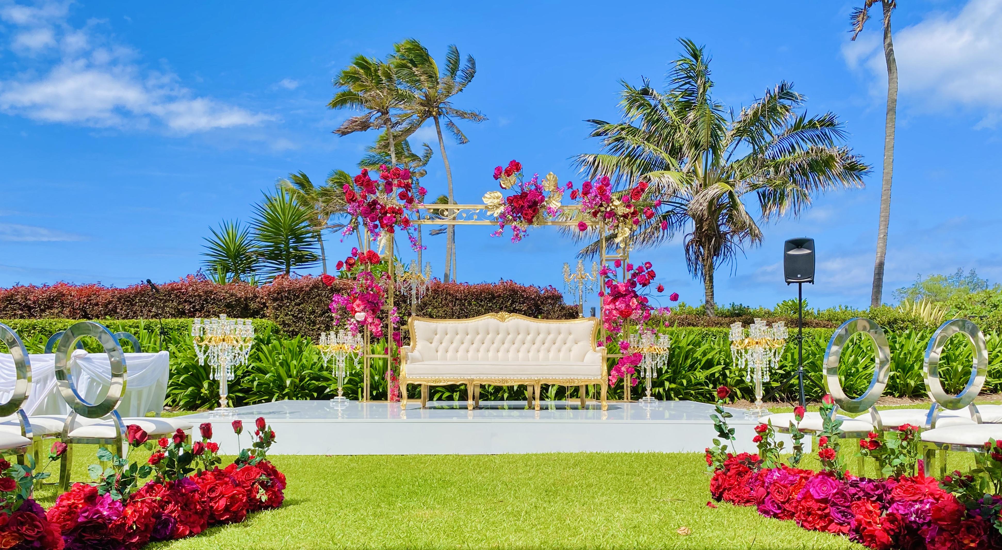 outdoor wedding goldcoast