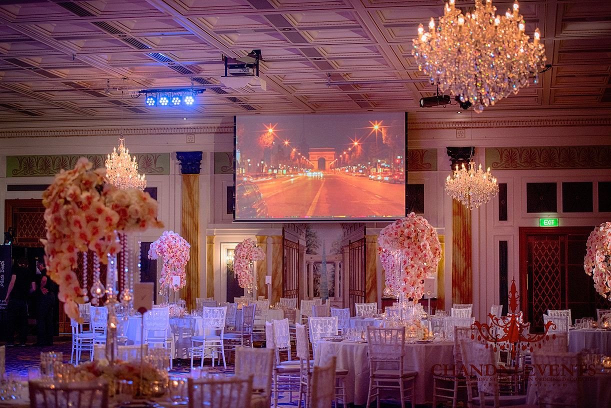 Indian Wedding Decoration And Mandap