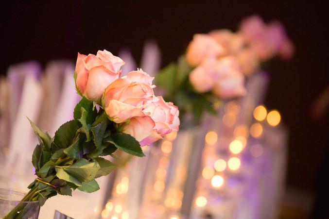 Fresh Floral Table Centrepieces at Hilton Hotel Brisbane