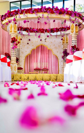 Indian Wedding Mandap for Pheras