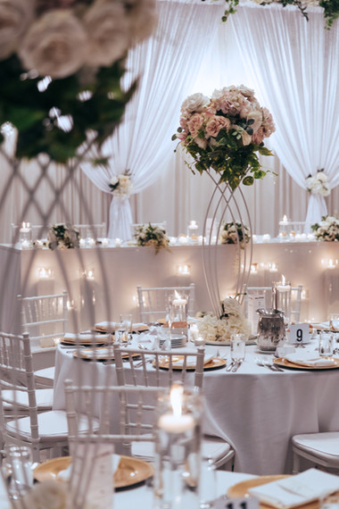 Wedding Table Centrepieces Luxury
