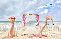 Mandap Beach Wedding Sajawat