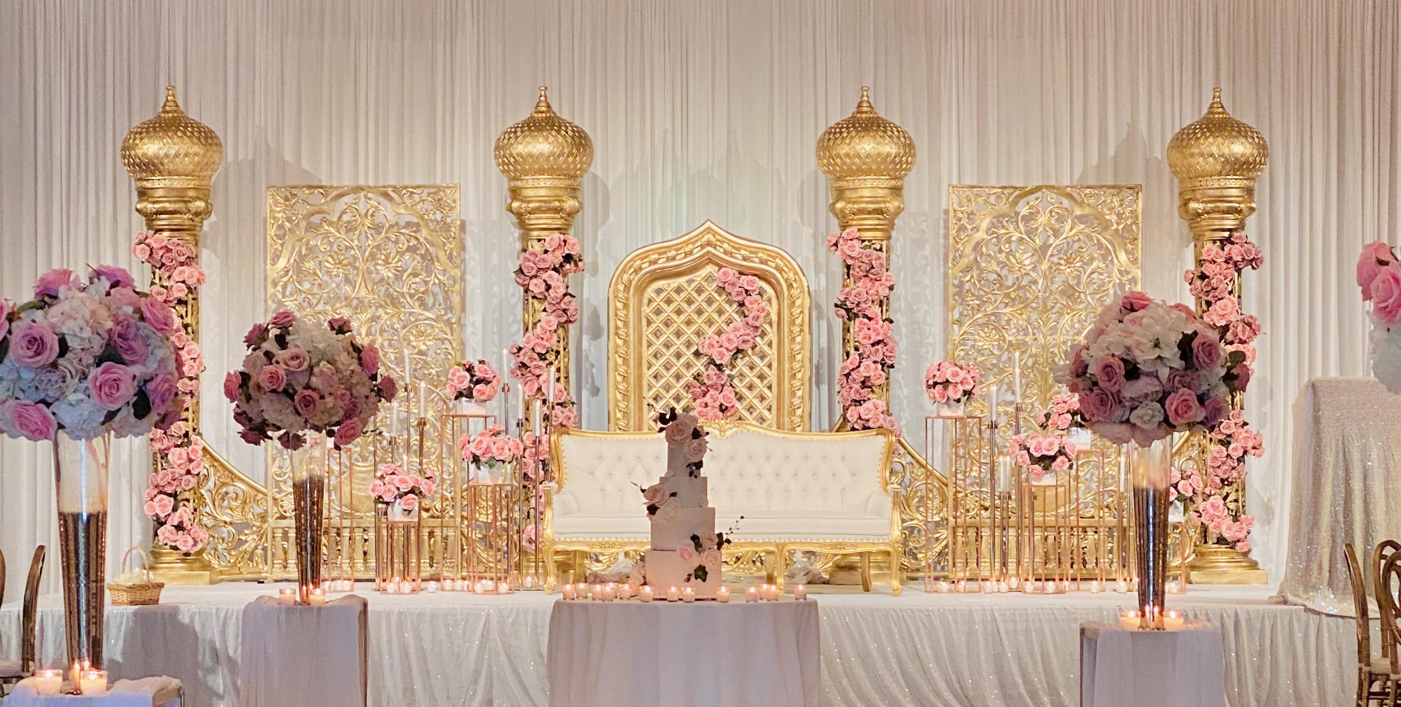 Luxury Indian Wedding Stage