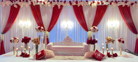 Wedding Reception Decor Stage