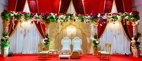 Open Royal Floral Mandap