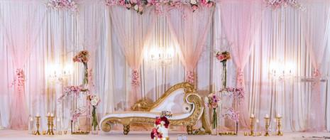 Wedding Reception Stage at The Greek Club