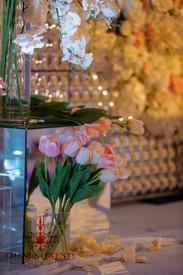Palazzo Versace Wedding Stage Florals