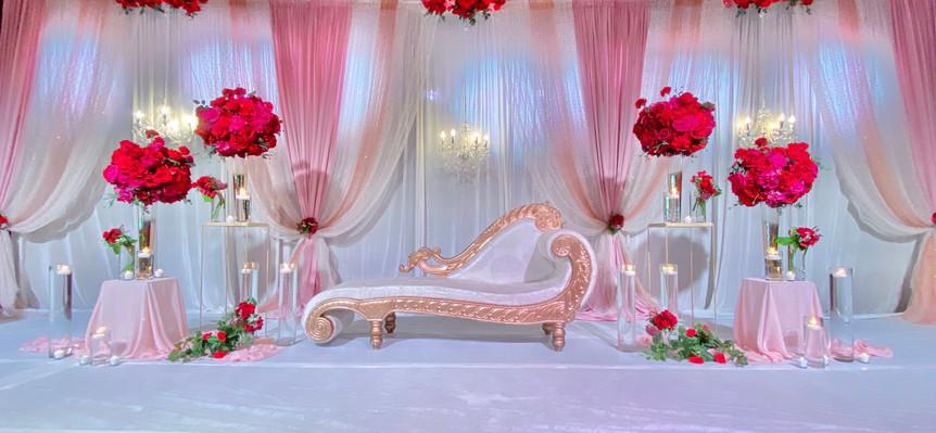Eatons Hill Grand Ballroom Wedding Stage