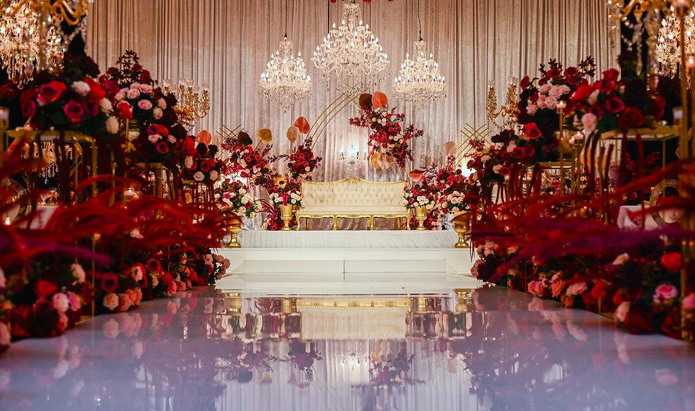 Luxury Wedding Reception Decor