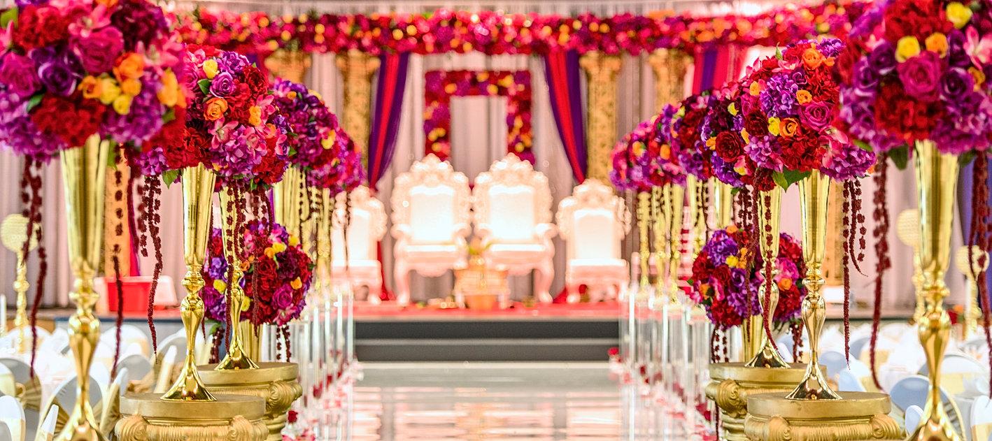 chandni events and mandapsindian wedding decorator and planner - Indian Wedding Decorations