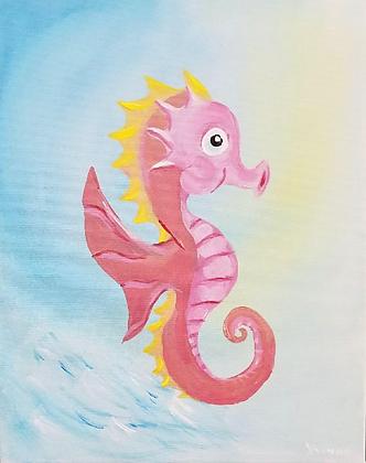 Dancing Seahorse