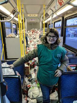 ETS Stuff a Bus Campaign