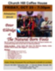 Coffee House Flyer - Peter Eldridge and