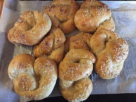 Sour Dough Pretzels