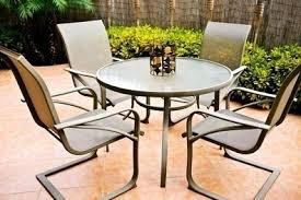 Wet Patio Furniture