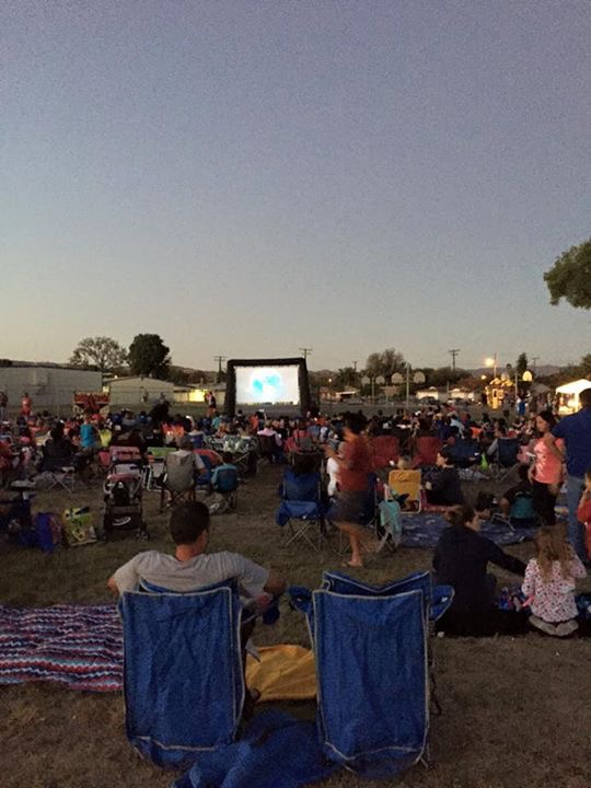 School Outdoor Movie Night