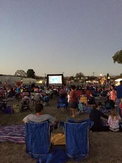 School Outdoor Movie Night