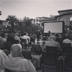 Outdoor Movie Night @Retirement home