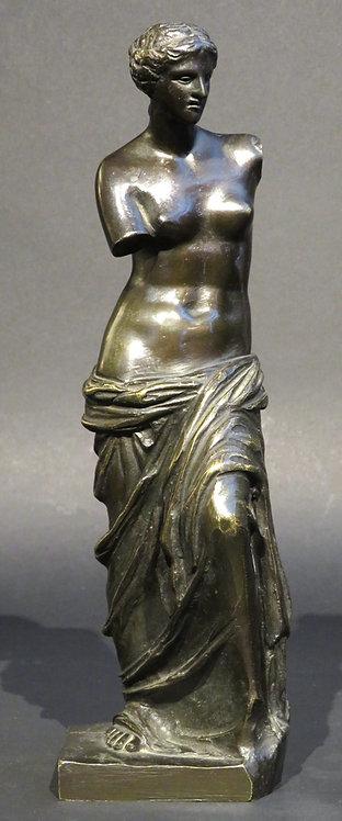 'Venus de Milo' A Fine 19th Century Grand Tour, Full Length Bronze Figure