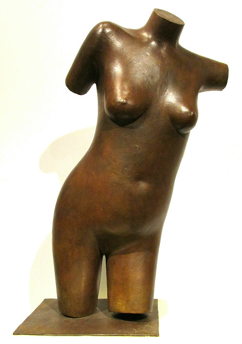 'Nude Torso', Bronze, George Foster, Canadian, SSC (Sculptors Society of Canada)