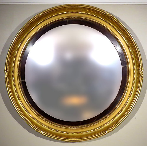 An Exceptionally Large & Fine Georgian Bulls-eye / Butlers Mirror