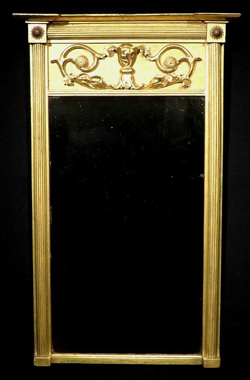 A Very Good Regency Period Giltwood Wall Mirror, English Circa 1825