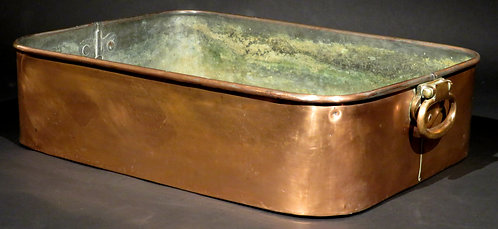 A Very Good Antique Copper Bain Marie with Original Mazarine, Circa 1900