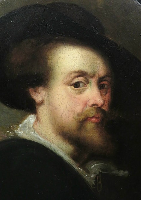 Self Portrait of Sir Peter Paul Rubens, In The Manner of The Artist