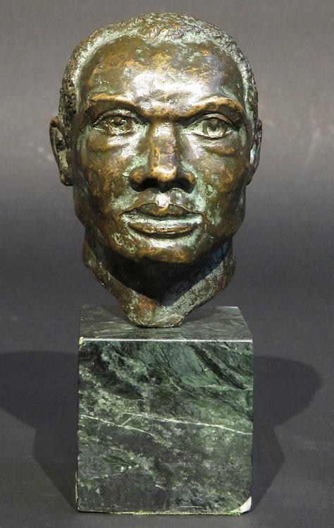 'Bahamian Man' by Harold Sampson Pfeiffer SSC, (1908-1997) Canadian
