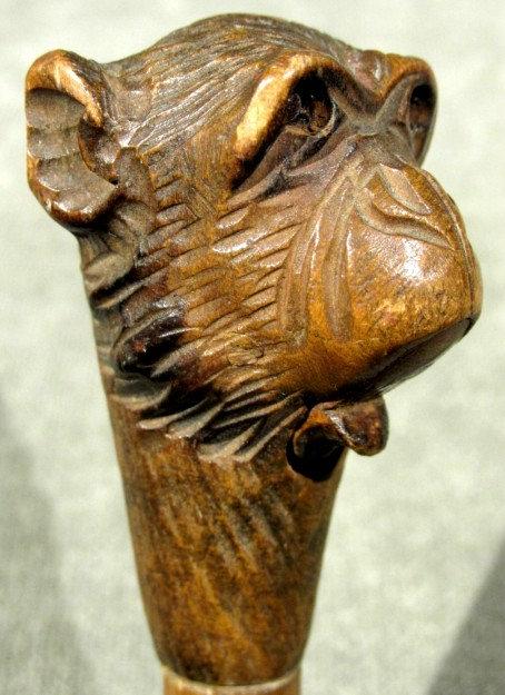 An Amusing Early 20th Century Glove Holder / Swagger Stick, Austrian Circa 1900