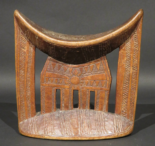 An Early 20th Century East African Headrest, Ethiopia (Kambata Tribe)