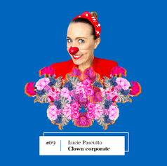 Lire entretien avec Lucie Pascutto, Clown corporate