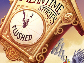We proudly present: The Meantime Stories cover!