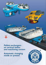 Rotomors Pallet Changers and Automation