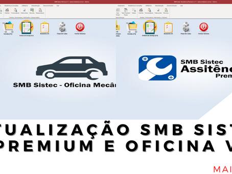 Confira as atualizações do mês de Maio 2021 SMB Sistec Oficina e SMB Sistec Assistência
