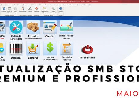 Confira as atualizações do mês de Maio 2021 SMB STORE Premium e SMB STORE Profissional