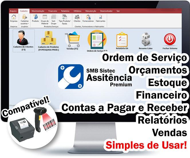 Sistema para Assistência Técnica, Ordem De Serviço, Controle Estoque, SMB Sistec