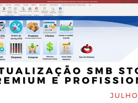 Confira as atualizações do mês de Julho 2021 SMB STORE Premium e SMB STORE Profissional