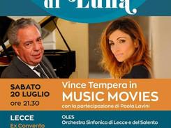 Al chiaro di luna - con Vince Tempera