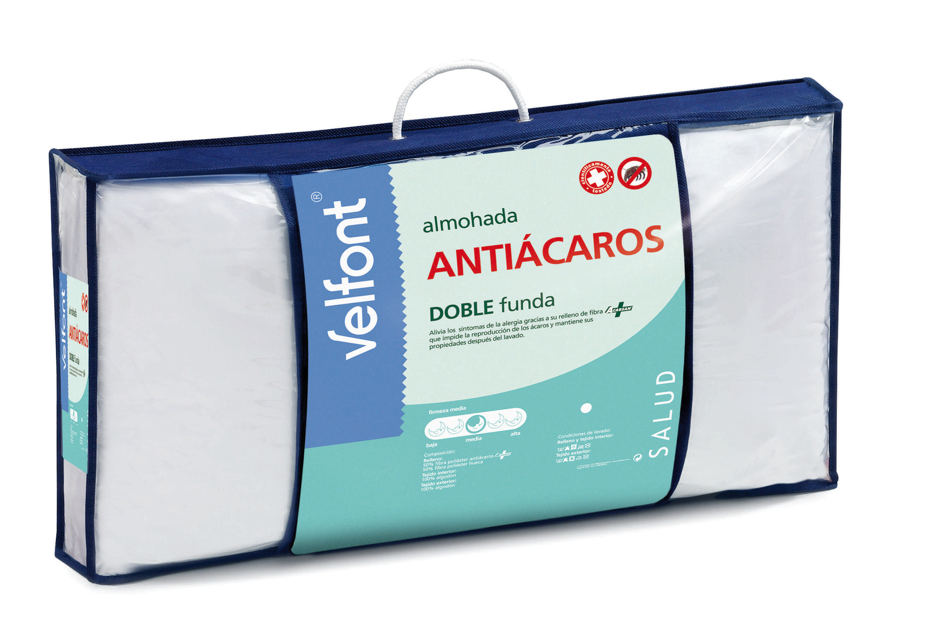 ALMOHADA ANTIÁCAROS