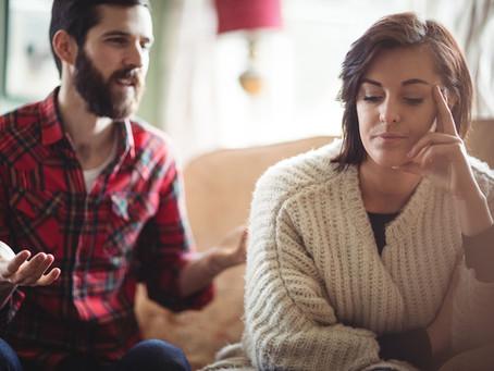 Discutir con la pareja, ¿cuando se convierte en un problema?.
