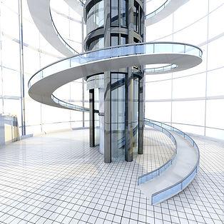 Access escalier
