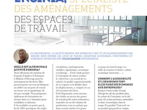 Ensinia et l'aménagements des espaces de travail