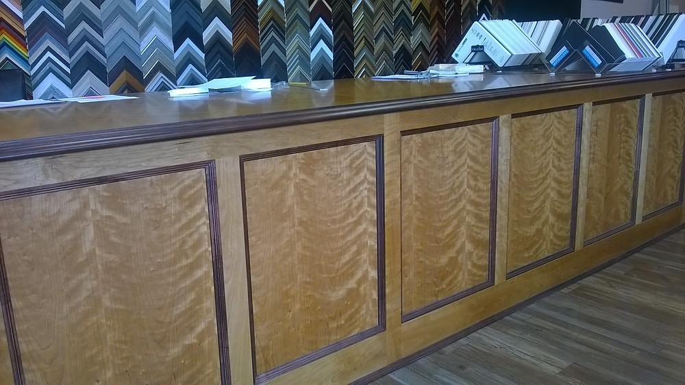 custom cabinetry, shop construction, the Village Frame Shop of Poughkeepsie
