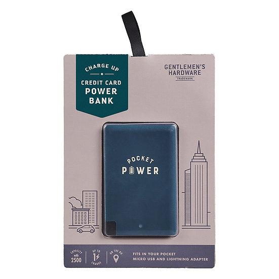 Batterie de secours format carte de crédit