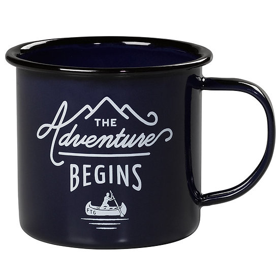 Mug en email - ADVENTURE BEGINS