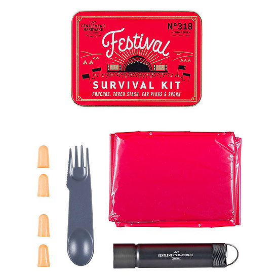 Kit de survie en festival