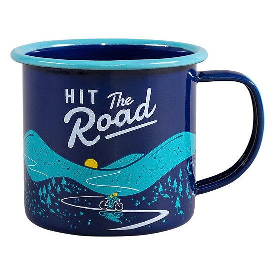Mug en email - HIT THE ROAD