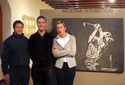 a4 Marco Soffietti -Golfprofi-Golflehrer, Laura Gianas Rege - Direktorin Royal P