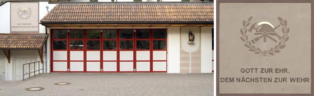 Feuerwehrhalle | Vigili del fuoco